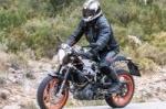 Husqvarna тестирует мотоцикл серии 401