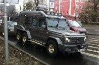 В Москве «всплыл» редчайший Mercedes G500 Schultz генерала Бундесвера