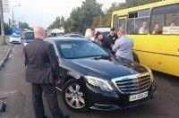 В Киеве полиция остановила вице-президента УЕФА Суркиса за использование спецмаячков