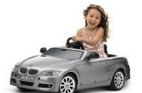 Эксклюзивный кабриолет BMW 3 серии с электроприводом или педалями для детей от 3 до 5 лет.