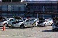 В аэропорту Борисполь начали готовить к передаче в полицию сотню машин бизнес-класса