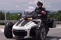 Полицейский трицикл Can-Am Spyder F3-P