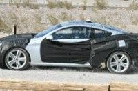 Новое заднеприводное купе Hyundai сфотографировали шпионы