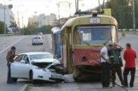 За истекшие сутки в Киеве зафиксировано более 200 ДТП