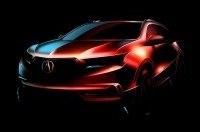Обновленный Acura MDX представят 23 марта