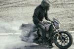 Рекорд по самому длинному бернауту поставлен на мотоцикле Victory