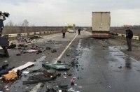 Маршрутка и грузовик столкнулись в Полтавской области, 8 человек погибли