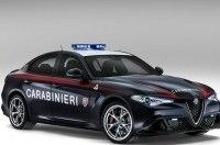 Седаны Alfa Romeo Giulia поступили на службу итальянской полиции