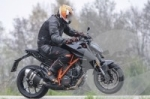Шпионское фото обновленного мотоцикла KTM 1290 Super Duke R