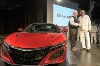 Продан первый суперкар Acura NSX