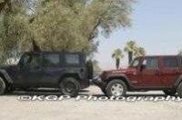 Появились шпионские снимки тестовых джипов Jeep