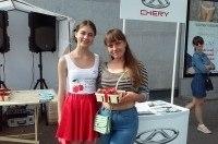 В Киеве прошли тест-драйвы кроссоверов Chery в рамках акции «Вишневый сезон»