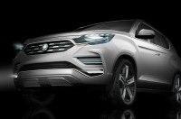 SsangYong привезет в Париж прототип нового Rexton