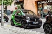 Электрический Smart нового поколения проедет без подзарядки 160 километров
