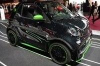 Электрокар Smart Fortwo Electric Drive 2017 стал заряжаться быстрее