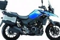 Новые мотоциклы Suzuki V-Strom 250 / GSX250R 2017 представили на китайской выставке CIMA 2016
