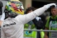 Хэмилтон впервые выиграл Гран-при Бразилии
