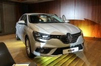 Renault презентовала новый Megane седан и рассказала о новинках