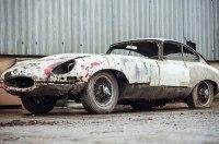 Ржавый раритетный Jaguar, простоявший 20 лет в сарае, выставят на аукцион