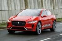 Электрический кроссовер Jaguar I-Pace Concept вывели на улицы Лондона