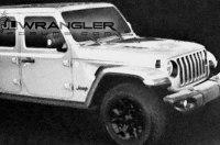В сеть «утекли» изображения нового Jeep Wrangler