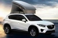 Кроссовер Mazda CX-5 обзавёлся палаткой на крыше