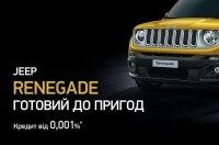 Кредитная программа для автомобилей Jeep Renegade
