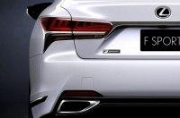 В Нью-Йорк едет «спортивный» флагман Lexus LS 500 F Sport
