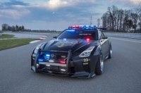Nissan построил полицейский GT-R с кенгурятником