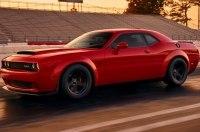 В сети рассекречено экстремальное купе Dodge Challenger SRT Demon