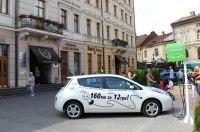 В Украине установят 50 станций зарядки электромобилей
