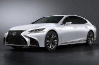 Lexus официально представила спортивный седан LS 500 F Sport