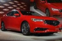 Обновлённый седан Acura TLX 2018 модельного года представлен официально