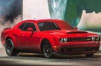 Dodge Challenger Demon получил 850-сильный мотор