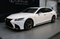 Lexus рассекретил спортивный вариант седана LS