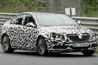 Шпионы сфотографировали Opel Vectra OPC