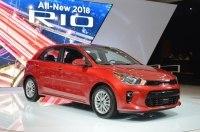В Нью-Йорке представлены седан и хэтчбек KIA Rio нового поколения