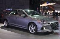 В Нью-Йорке представлен обновлённый седан Hyundai Sonata 2018 модельного года