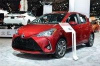 Toyota похвасталась в Нью-Йорке обновленным Yaris