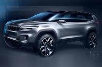 Официальный эскиз нового концептуального внедорожника Jeep