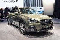 Обновленный Subaru Outback 2018 прибыл в Нью-Йорк