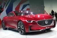В Шанхае дебютировало электрокупе MG