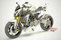 Французы разработали гибридный мотоцикл с роторным мотором