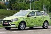 Универсал Lada Vesta заметили на тестах в Европе