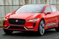 Серийный кроссовер Jaguar I-Pace засняли на видео