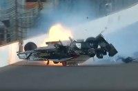 Французский гонщик Себастьен Бурдэ попал в аварию на скорости 370 км/ч