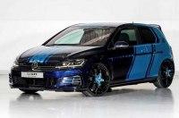 VW построил 410-сильный гибридный Golf GTI
