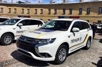 Гибридные кроссоверы Mitsubishi Outlander PHEV передали Нацполиции