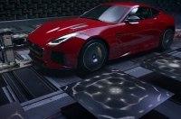 Jaguar сделал видимым звук 575-сильного купе F-Type