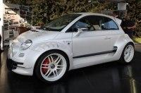 Представлен 350-сильный хэтчбек Fiat 500 Giannini